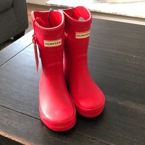 Hunter for Target red toddler rain boots